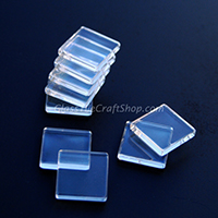 25mm Square Flat Cabochon