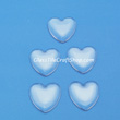Glass Cabochons Heart Shaped