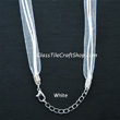 24 inch Sterling Silver Plated Ball Chain Necklace