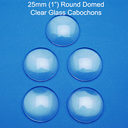 25mm Round Domed Cabochon