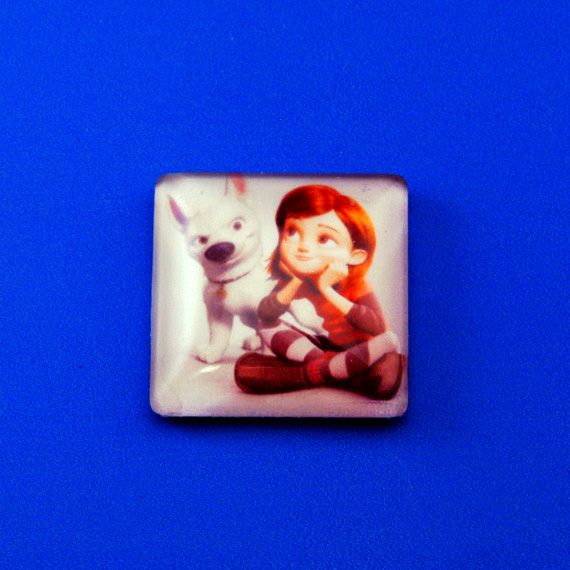 Square Glass Tile with Image