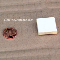 Penny and glass tile pendant
